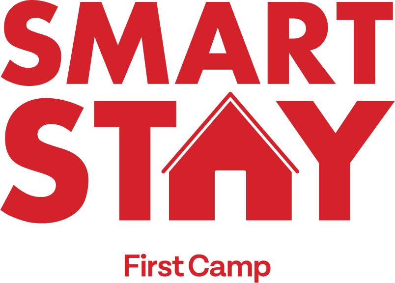 smart stay logotype red
