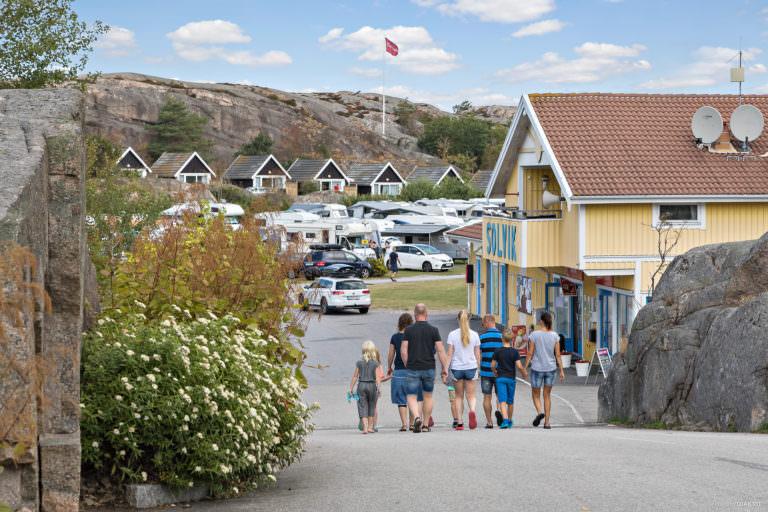 First Camp Solvik-Kungshamn i slutet av vägen.