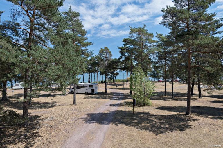 Stig ner till vattnet vid First Camp Oknö – Mönsterås.