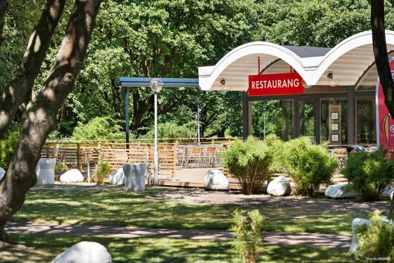Restaurangen på First Camp Sibbarp-Malmö.