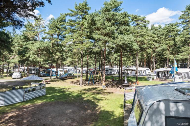 First Camp Åhus-Kristianstad en solig dag.