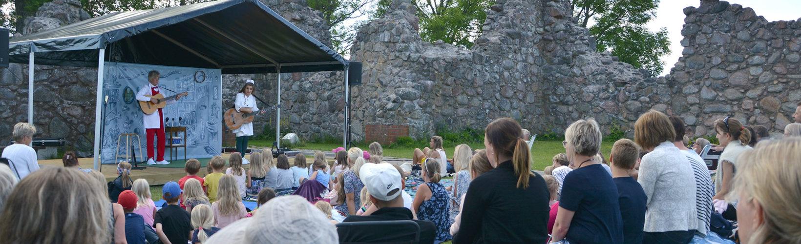 Mönsterås – Kronobäck Klosterruin