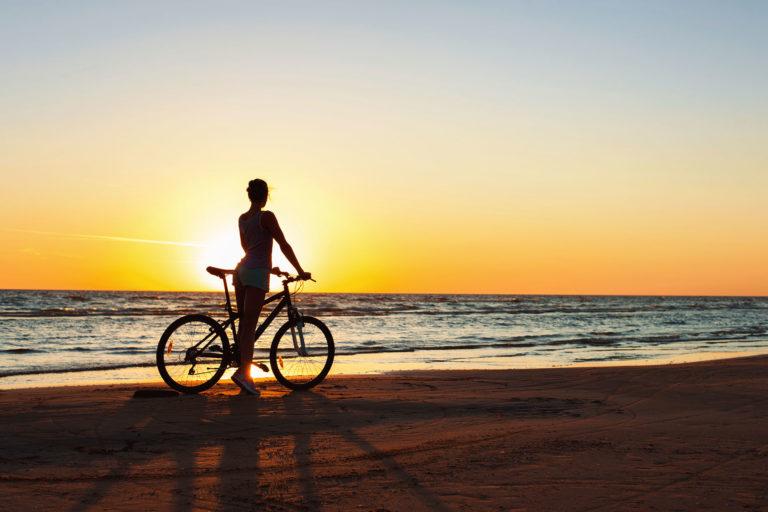 Cykel og cykelbil