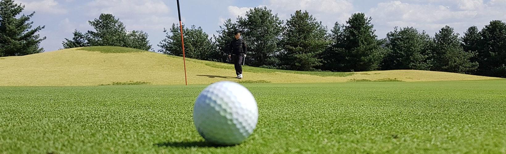 Golfresor och camping