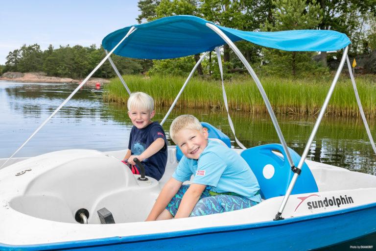 Kanus, Ruder- und Tretboote mieten