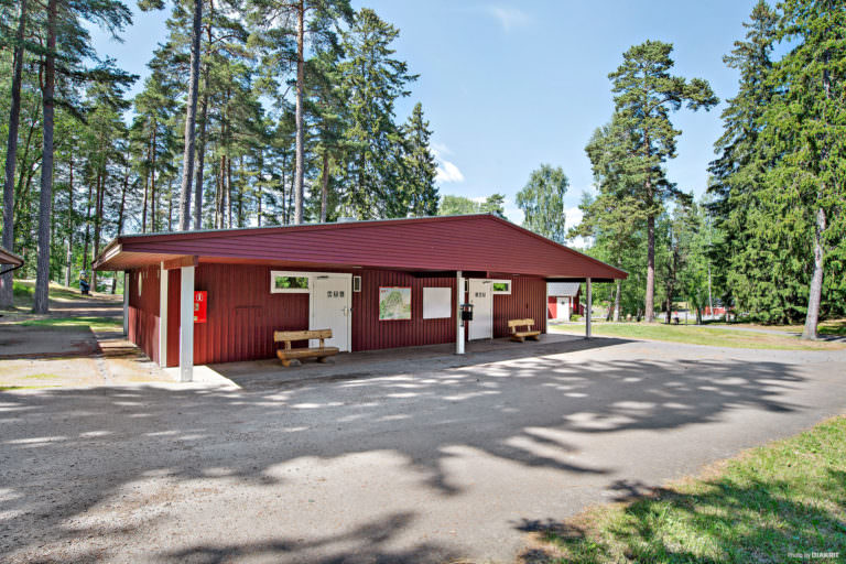 Servicehus på First Camp Kolmården-Norrköping.