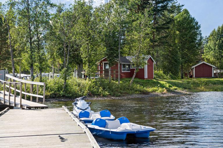 Hyr kajak, roddbåt och trampbåt