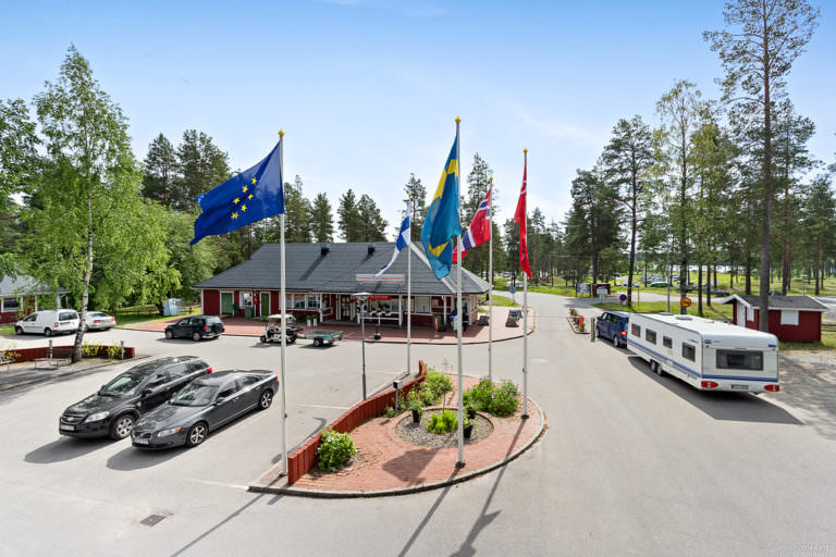 Reception First Camp Arcus-Luleå.