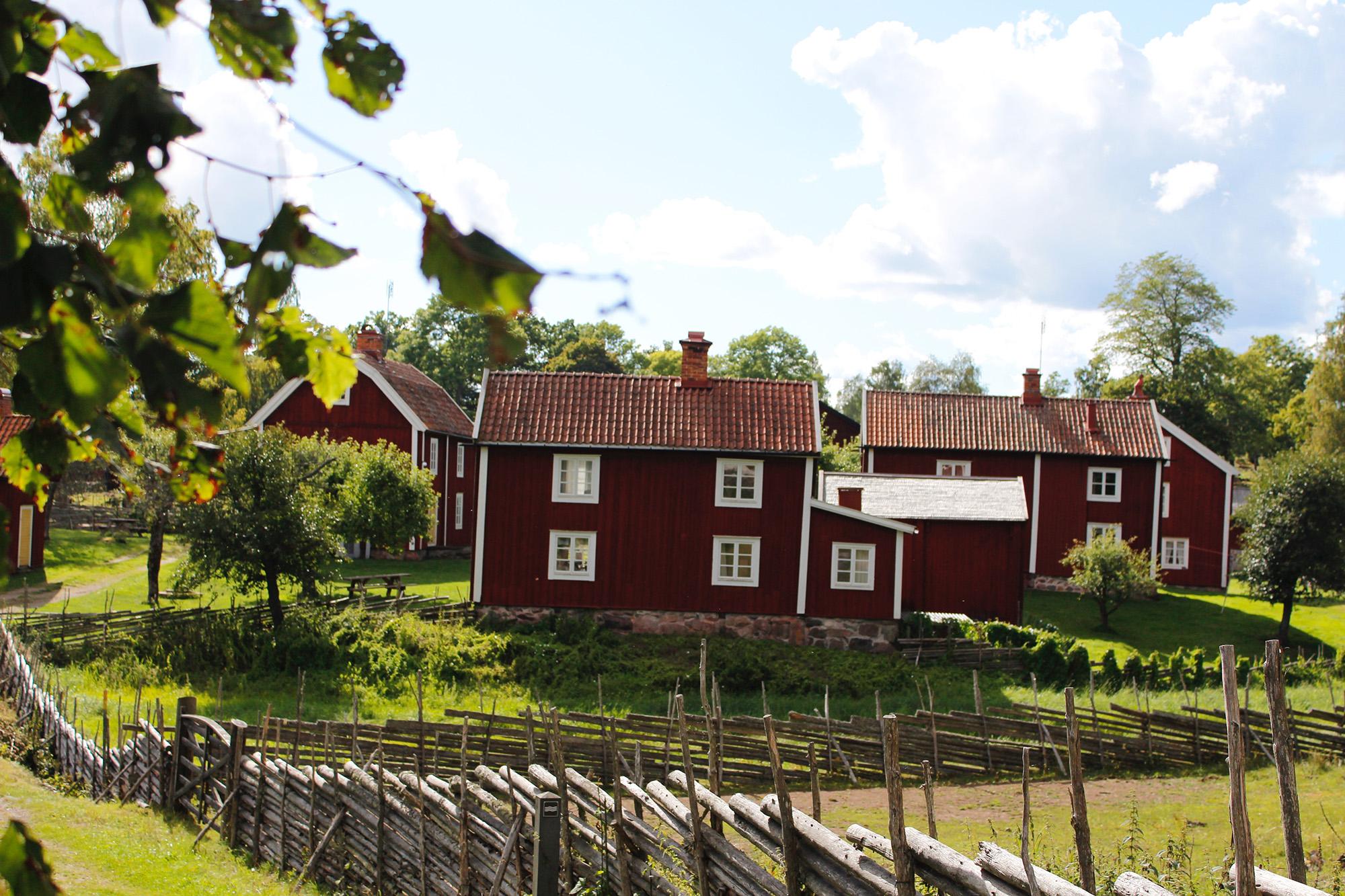 Stensj Village - First Camp