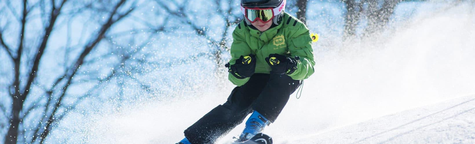 Skiing in Karlstad