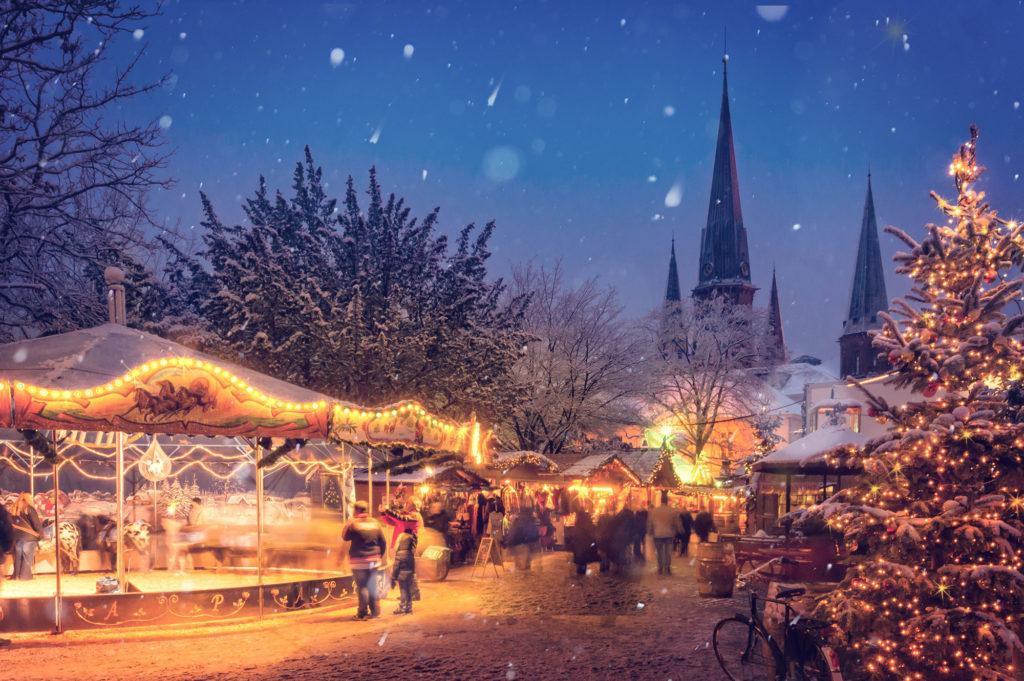 Julmarknader från norr till söder
