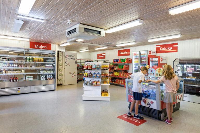 Stenso-Kalmar campingbutik