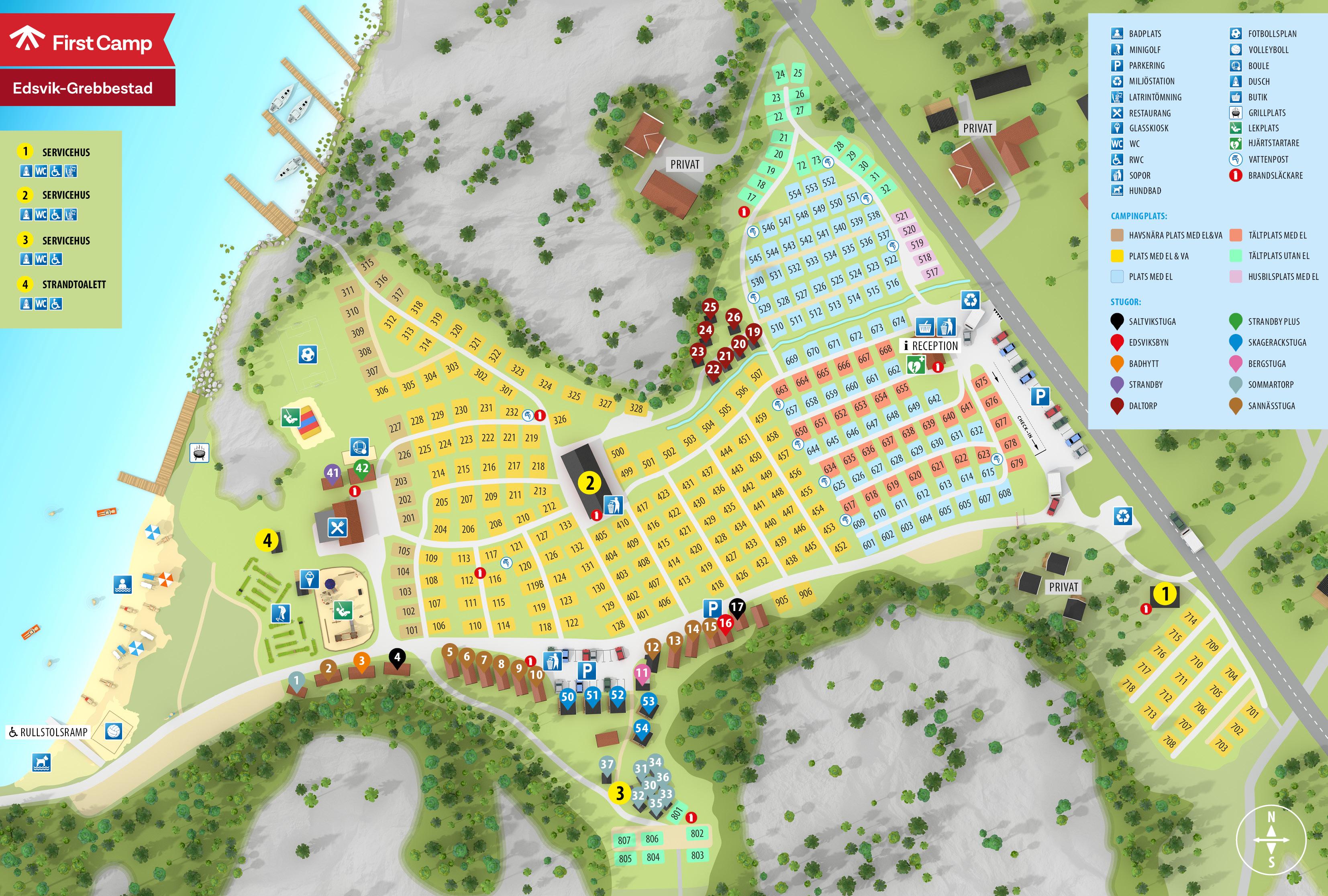Stor villa med avskild tomt nra Grebbestad. - Ville in affitto a