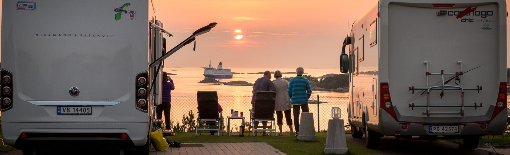 Autocamperpladser og ståpladser i Sverige