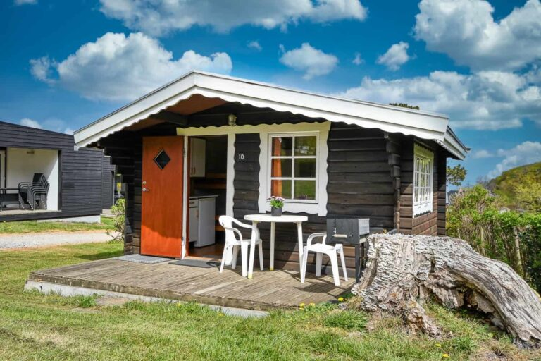 Lille campinghytte – 15m2