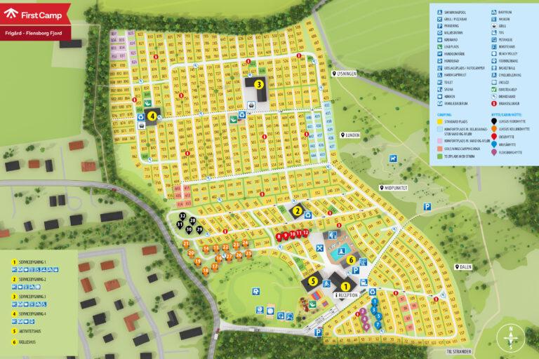 Campingkarta Frigård